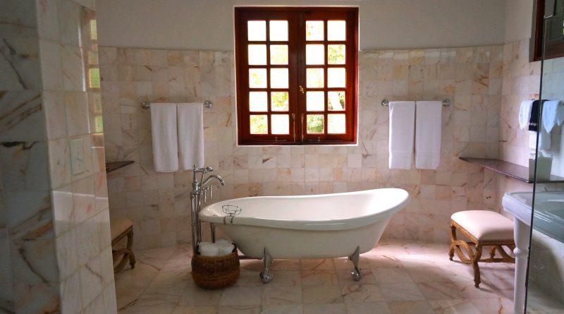 Rustikální koupeln